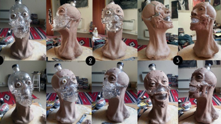 Super Creepy: Scientists Create the Face of Crystal Skull Vodka From a Bottle