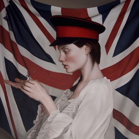 Simply Beautiful: Oil Paintings of Enchanting and Mysterious Young Women by Mary Jane Ansell