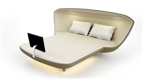 The Bed Of The Future: Revolutionary Sleeping Concept