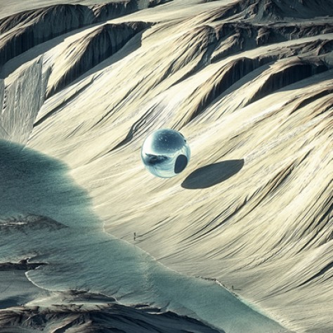 """Cool Digital Art: The Vast Landscapes Of """"Shapes In Nature"""" by Chaotic Atmospheres"""