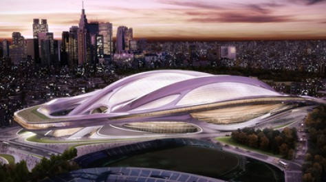 Dynamic and Futuristic Design: Zaha Hadid's 2020 Summer Olympic Stadium for Japan