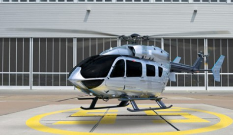 Luxury Chopper: Airbus EC145 Helicopter With Mercedes Benz Styled Interiors