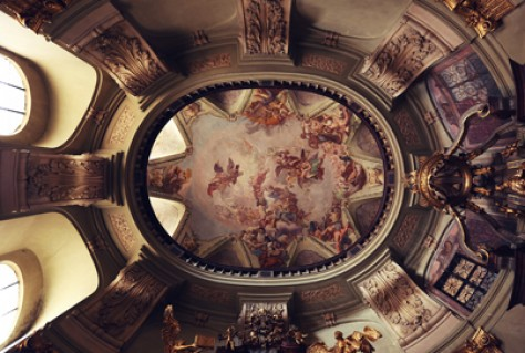 Magnificent Cathedral Ceiling Art