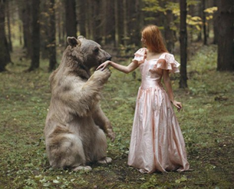 Rich Mysticism: Russian Photographer Takes Stunning Portraits With REAL Animals